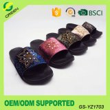 Suede Lady Flat Slipper Summer Slides Sandals for Women