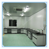 L Shape Corner Steel Frame Skin Care Lab Furniture