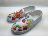 Lovely New Design Shoes with Embroidery Upper (6103)