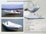 Aqualand 16feet 4.7m/Rib Boat/Rigid Inflatable Boat Boat (RIB470C)