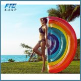 Giant Inflatable Rainbow Pool Float Floating Row Inflatable Water Toy