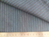 Blue/Charcoal Stripes 125GSM 100% Cotton Yarn Dyed Fabric