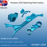 Small MOQ OEM Blue Anodize Precision Milling CNC Aluminum Parts