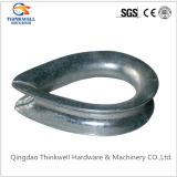 Stamping Carbon Steel Galvanized BS464 Wire Rope Thimble