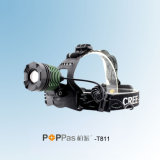 500lumens Super Bright CREE Xml T6 Headlamp (POPPAS-T811)