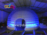 Round Inflatable Clear Bubble Tent with LED Light