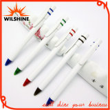 Cheap White Plastic Ball Pen for Giveaways (BP0267)