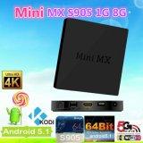 4k Amlogic S905 TV Box Mini Mx Quad Core