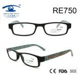 New Style Flower Pattern Elegant Reading Glasses for Women (RE750)