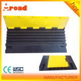 5 Channels Rubber Floor Cable Protector with PVC Cover