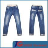 Little Girls Kids Lace Denim Jeans (JC5116)