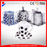 Logo Printing White Coffee Mug/PVC Display Box Promotional Mugs (GP1004)
