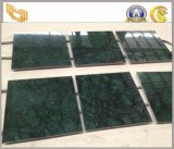 Polished Dark Green Marble Tiles for Floor and Wall
