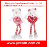 Valentine Decoration (ZY13L887-1-2) Valentine Love Bear Valentine Felt Gifts