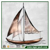 Retro Sailboat Metal Home Decoration Painting