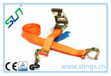 Ratchet Tie Down Strap with Hooks (SLN RS 01) Ce GS