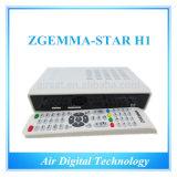 Original Zgemma-Star H1 Satllite TV DVB-S2+DVB-C Two Tuner Combo Enigma2 Linux Zgemma Star H1 Twin Tuner