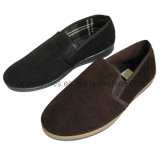 Winter Fabric Men Shoes Injection Winter Slipper (OCD-23)