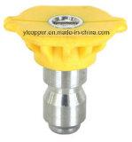 Qick Connect Spray Nozzle with Yellow Plastic Cap