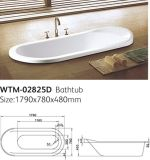 Ellipse Bathtub Wtm-02825D Simple Classical Bathtub
