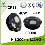 CREE 40W 5.75 Inch LED Car Light for Harley High Power
