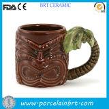 Hawaii Coconut Tree Unique Ceramic Tiki Cup