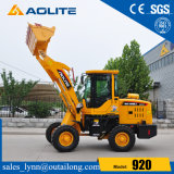 Construction Machinery Joystick Small Wheel Loader 1ton Loader for Sale