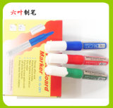 Non Toxic Refillable Ink Whiteboard Marker Pen (G-201) , Stationery Pen Dry Earser Marker Pen
