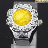 Ladies Jewelry Crystal Finger Ring Quartz Watch (SA2081)