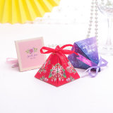 Creative Wedding Products Sweet Gift Box, Pyramid Style Candy Gift Box