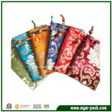 Mixed-Color Elegant Promotional Jewelry Bag with Drawstring