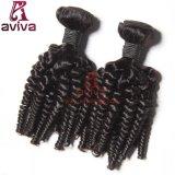 Top Quality Brazilian Human Hair Extension Bouncy Curl Virgin Remy Hair