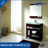 American Design Floor Standing Vanity Bathroom Cabinet with Glass Basin