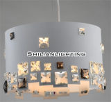 New Design Contemporary White Crystal Pendant Light (804-1310002M)