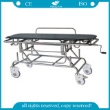 AG-HS014 Artificial Leather Mattress Stretcher Trolley