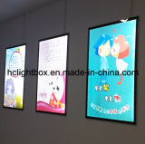High Brightness Aluminum Magnetic LED Lighted Wall Mounted Picture Frame