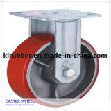 3 - 8 Inch Rigid Heavy Duty PU Caster Wheel