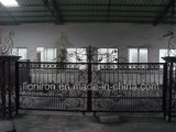 Super Quality Hand-Crafted Wrought Iron Double Swing Gates