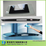 6mm Bent Toughened Decorative Glass Panel for Cooker Hood