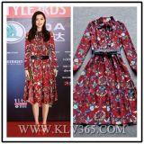 Hot Sale Design Fashion Party Women Print Dress