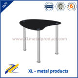Tempered Glass Top Stainless Steel Base Coffee Table