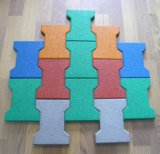 Interlock/Square Type and Dog Bone Rubber Tile