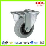 Industrial Grey Rubber Casters (D102-32D080X25)