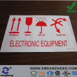 Customized Electronic Equipment Notice PVC Sticker (SZ14045)