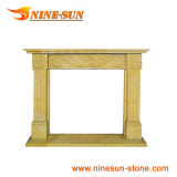 Granite Stone Stove Fireplace (YXFP-041)