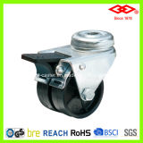 Swivel Bolt Hole Double Wheel Caster (G190-30B050X17DS)
