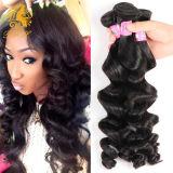 Unprocessed Brazilian Virgin Hair Loose Wave 3 Remy Human Hair Extensions Cheap Brazilian Loose Wave Virgin Hair Weave Bundles