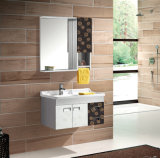 Hot Sales Wall-Mounted Lowes Bathroom Vanity Cabinets (T-9472)