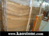 Yellow Wood Marble for Tile, Baluster, Vanity Top