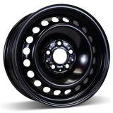 16X6.5 (5-112) Black Steel Winter Wheel